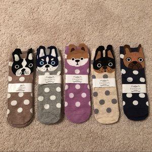 Cute French bulldog socks